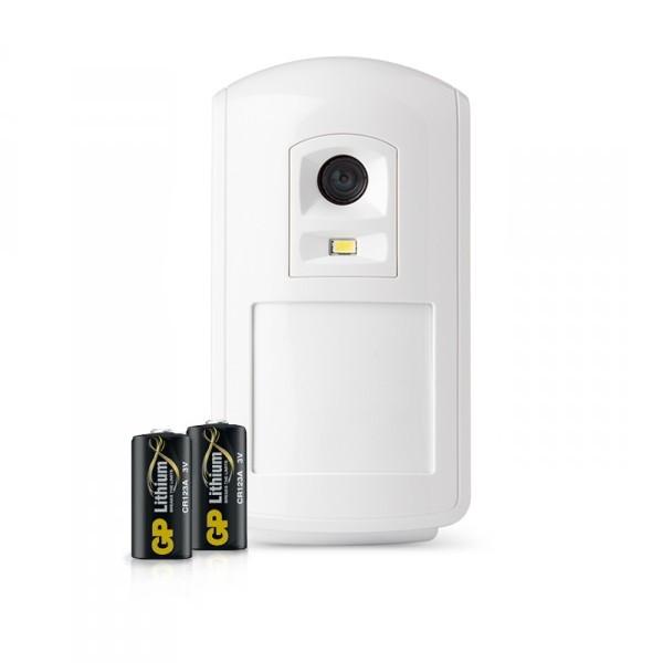 Batteri, Kameradetektor m/nattsyn, IR og blits (Svart/Hvit), Domonial